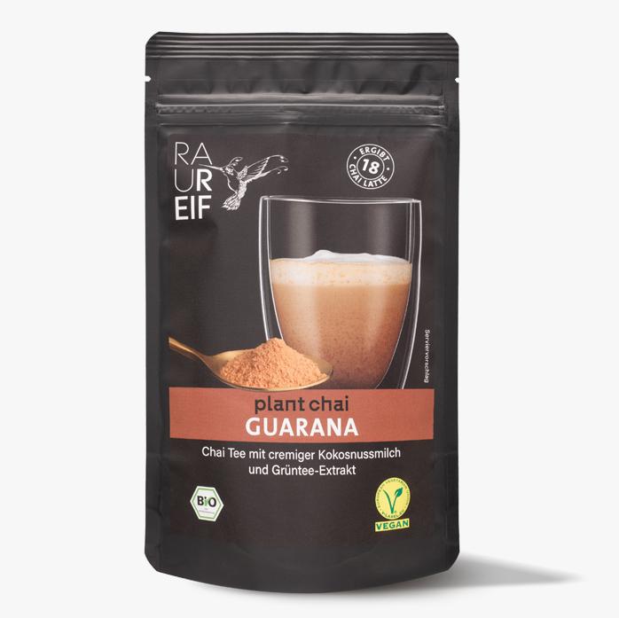 Chai Guarana im Beutel.